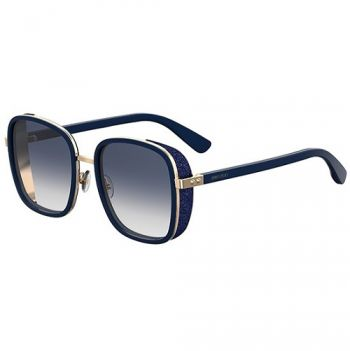 JIMMY CHOO ELVA/S BLUE GOLD/BLUE SHADED