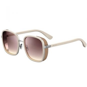 JIMMY CHOO ELVA/S IVORY GOLD/GREY PINK SHADED