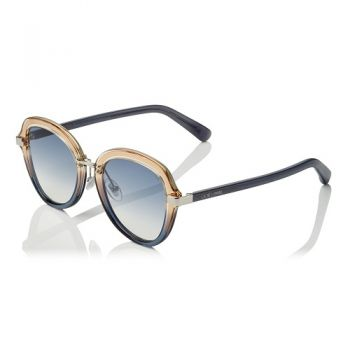 JIMMY CHOO DREE/S 02F7/08 GREY SHADED BLUE