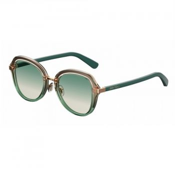 JIMMY CHOO DREE/S PEF/9K BEIGE SHADED GREEN