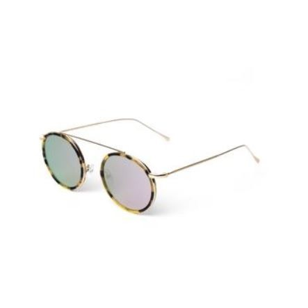ILLESTEVA KINGSTON GOLD WITH ROSE FLAT MIRRORED LENSES