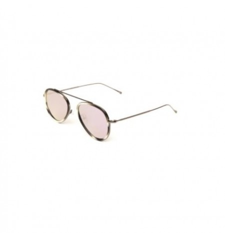 ILLESTEVA DORCHESTER ACE HORN GUNMETAL WITH ROSE FLAT MIRRORED LENSES