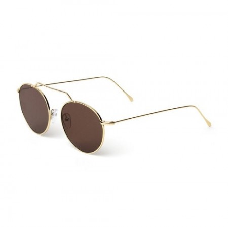 ILLESTEVA WYNWOOD II GOLD WITH BROWN FLAT LENSES