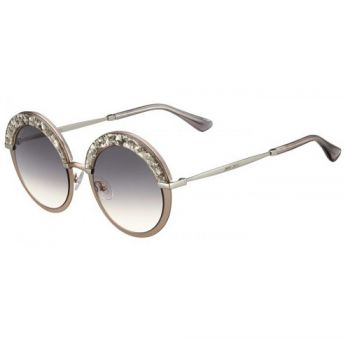 JIMMY CHOO GOTHA/S 68I/9C BEIGE SILVE/LIGHT GREY SHADED
