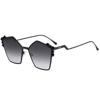 FENDI FF 0261/S 2O5/9O BLACK/GREY SHADED