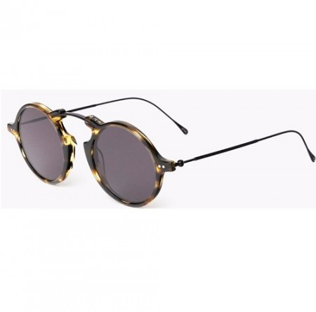 ILLESTEVA ROMA II DARK SAND WITH GREY FLAT LENSES