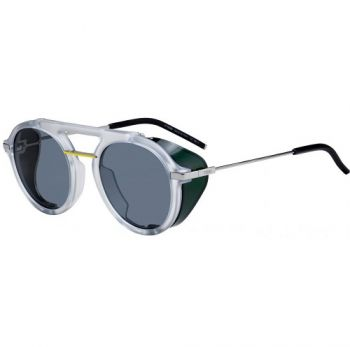 FENDI FANTASTIC FF M0012/S 900/IR CRYSTAL GREEN/GREY