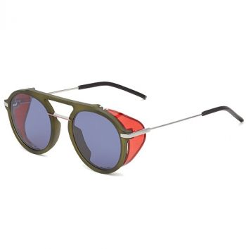 FENDI FANTASTIC FF M0012/S 1ED/KU OLIVE GREEN RED/BLUE