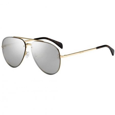 CÉLINE MIRROR CL 41391/S J5G/SS GOLD/GREY SILVER MIRROR