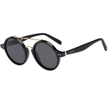 ÓCULOS CÉLINE THIN ELLA CL 41436/S 807/IR BLACK/GREY BLUE