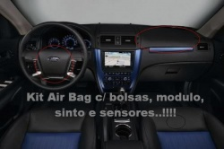 Kit AirBag Ford Fusion Novo 2009 / 10 / 11 - Completo