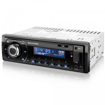 Auto Rádio automotivo Talk Multilaser P3214 - Bluetooth - MP3 Player - Alta potência - Rádio FM - USB/SD/P2