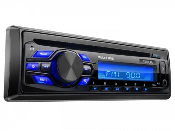 Som Automotivo Multilaser Freedom P3239 - CD Player Rádio AM/FM Entrada USB/AUX