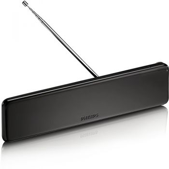 Antena de TV Digital Amplificada 18dB para Ambientes internos - Philips - SDV6225T/55