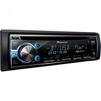 Auto Rádio CD/USB/SD/BT DEHX6780BT Preto PIONEER