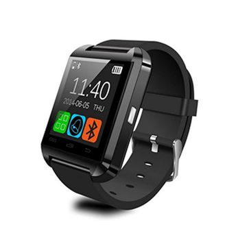 Smartwatch U8 Preto com Bluetooth - Compatível com Android e IOS