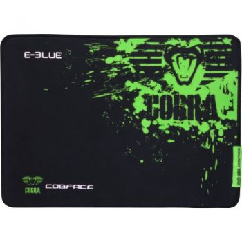 Mouse Pad Gamer COBRA SPEED S Preto/Verde E-BLUE