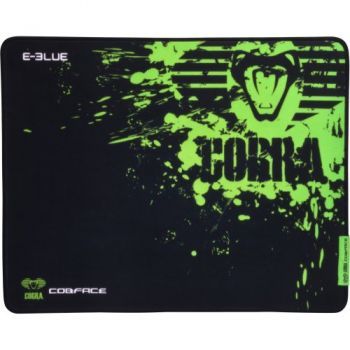 Mouse Pad Gamer COBRA SPEED L Preto/Verde E-BLUE