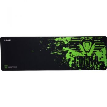Mouse Pad Gamer COBRA SPEED XL Preto/Verde E-BLUE