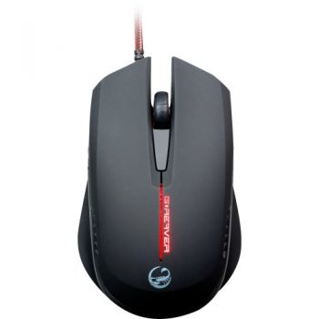 Mouse Gamer Óptico USB 2000DPI G-Reaver II Preto TEAM SCORPION