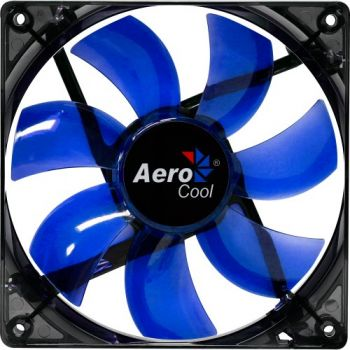 Cooler Fan Lightning 12cm BLUE LED EN51394 Azul AEROCOOL