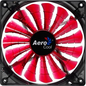 Cooler Fan Shark Devil Red Edition EN55475 14cm Vermelho AEROCOOL