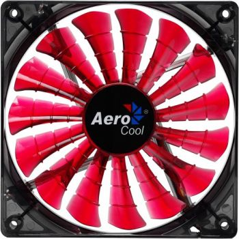 Cooler Fan Shark Devil Red Edition EN55437 12cm Vermelho AEROCOOL