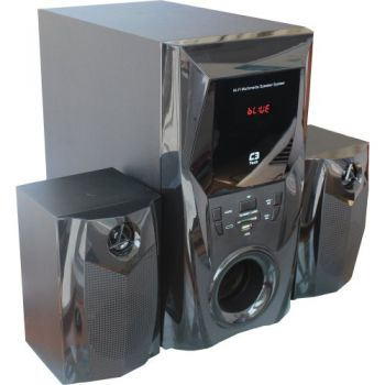 Caixa Multimídia 2.1 com Subwoofer 44W RMS SP-365 Preto C3 TECH