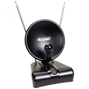 Antena Interna TV UHF/VHF/FM/HDTV TV500 AQUÁRIO