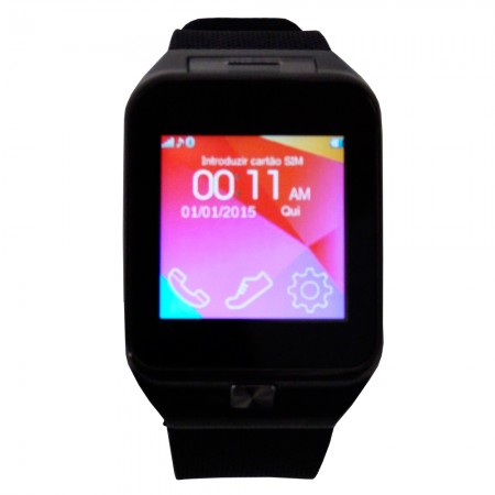 Relógio Bluetooth Smartwatch Gear Chip Dz09 Iphone e android  - foto principal 1