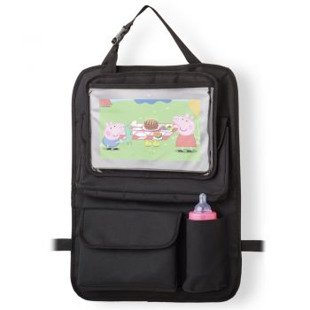 Organizador para carro com case para Tablet - Multikids Store 'N Watch BB184