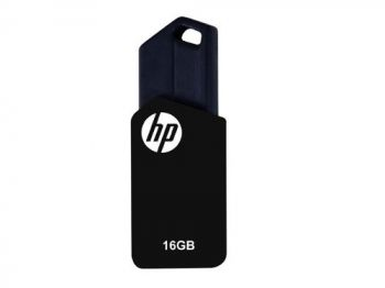 Pen Drive HP V150W  - 16GB - USB 2.0 - Preto