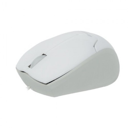 Mini Mouse Retrátil USB MM-601 Branco FORTREK  - foto principal 1