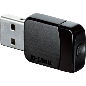 Adaptador Wireless USB DWA-171 Preto D-LINK