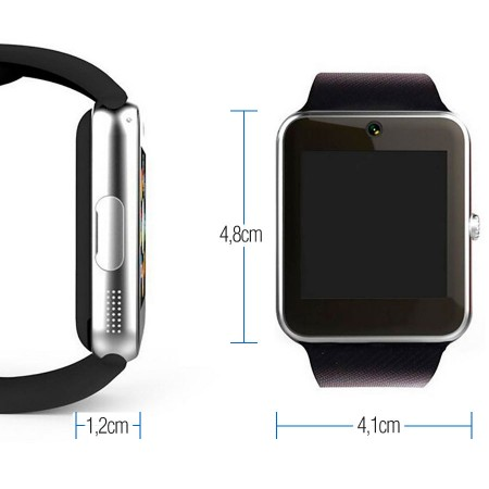Relógio Bluetooth Smartwatch Gear Chip GT08 Iphone e android  - foto principal 1