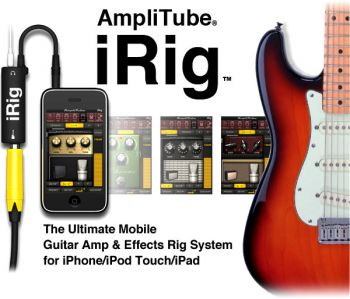 Adaptador De Guitarra irig Amplitube Para Ipad Ipod Iphone 4, 5 e 6