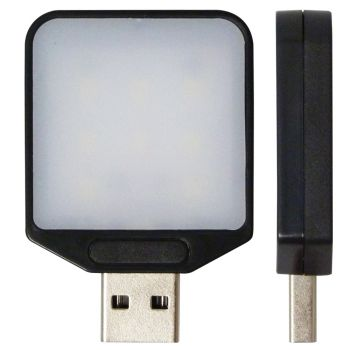 Mini Luminária USB - LED - Portátil - Notebook - PC