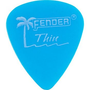 Palheta CALIFORNIA CLEAR FINA Azul FENDER