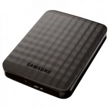 HD Externo Samsung M3 Portable 2048GB - 2TB - Preto - USB 3.0 - PC e MAC - HX-M201TCB/G