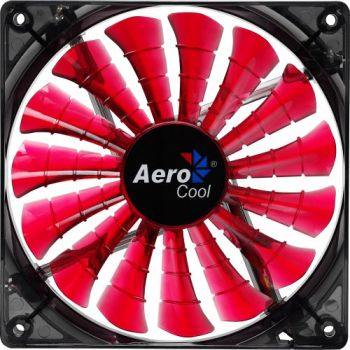 Cooler Fan 14cm SHARK DEVIL RED EDITION EN55475 Vermelho AEROCOOL