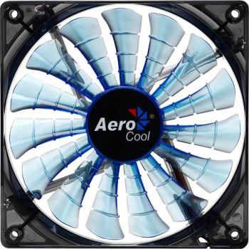 Cooler Fan 12cm SHARK BLUE EDITION EN55420 Azul AEROCOOL