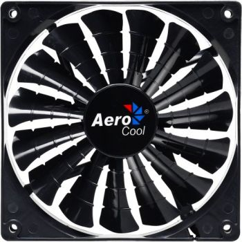 Cooler Fan 12cm SHARK BLACK EDITION EN55413 Preto AEROCOOL