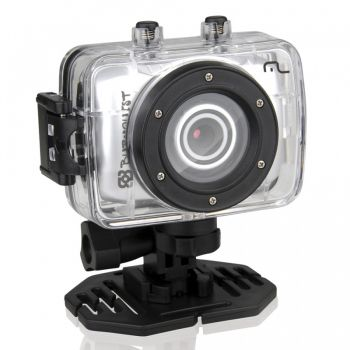 Filmadora Sportcam HD Multilaser - BOB Burnquist - DC180 - 14MP - HD 720p - prova Dágua - Webcam + Cartão 8GB