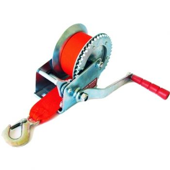 Guincho Manual de Arraste Catracado - 630 kg - Fita com 7,5 metros - Lee Tools 603249