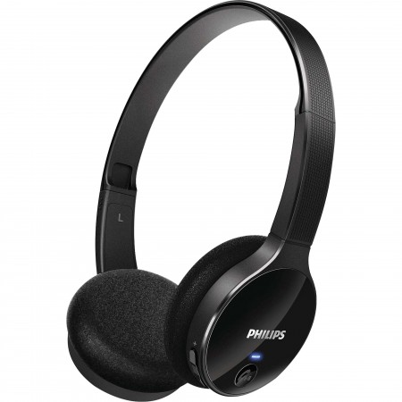 Fone de Ouvido Wireless Bluetooth com Microfone Integrado SHB4000/00 Preto PHILIPS  - foto principal 1