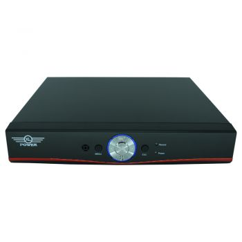 DVR Híbrido Full HD Stand Alone 4 Canais H.264 Cloud 3G AHD