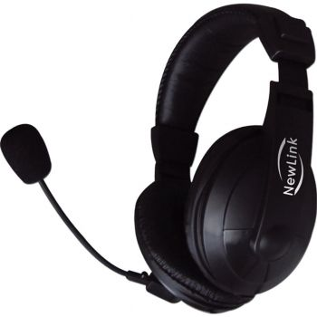 Fone Headset Professional HS201 New Link - 1000mw