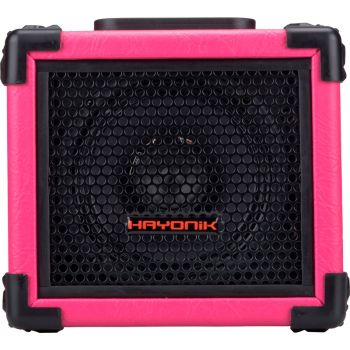 Caixa Multiuso 20w com Tweeter USB Player 80 Rosa Hayonik