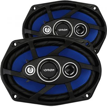 Kit Alto Falante Quadriaxial 6x9'' 110W RMS 4 Ohms ORION