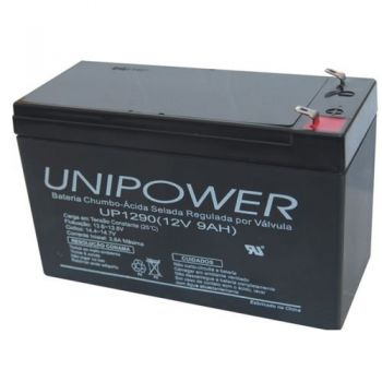 Bateria Selada UP1290 12V/9A UNIPOWER